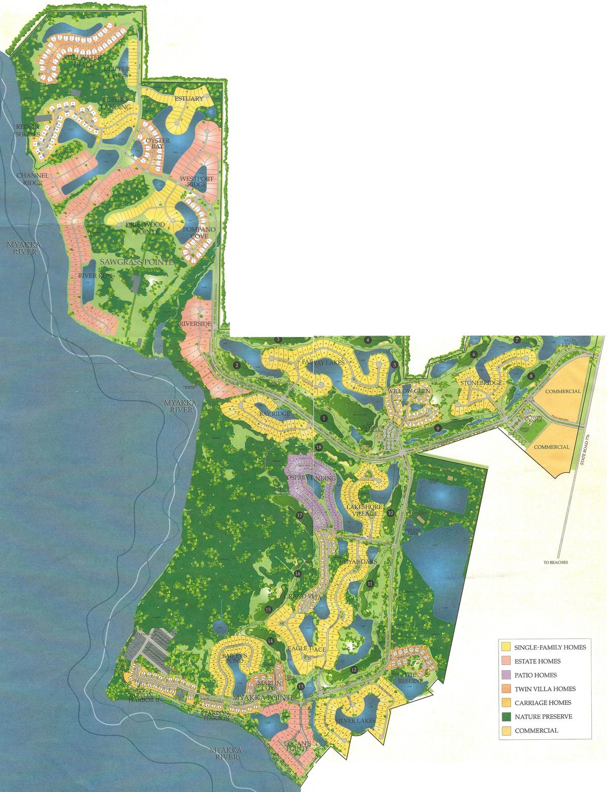 Map Of Port Charlotte Florida.Map Of Riverwood In Port Charlotte Fl Southwest Fl Real Estate