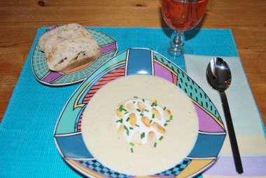 California Almond Soup