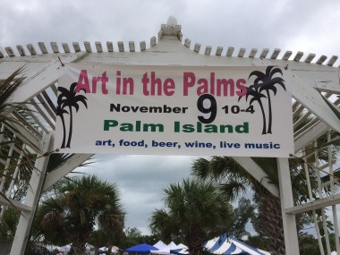 Art in the Palms on Palm Island, Florida