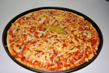 With homemade pizza, you can mix all your favorite ingredients and toppings.