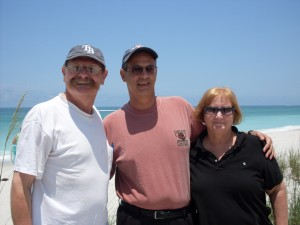 Visiting Boca Grande with Frank and Anita