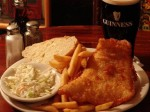 Fish & chips at the Celtic Ray