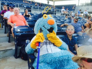 Stoney, the Stone Crab's mascot