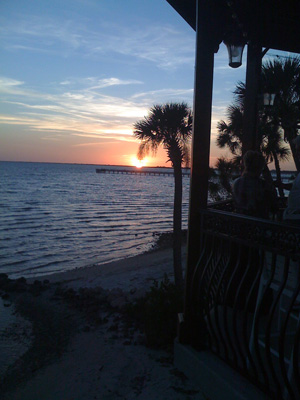 Relax at a Tiki Bar on Charlotte Harbor