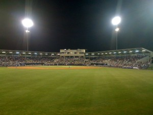 A night game at Charlotte Sports Park